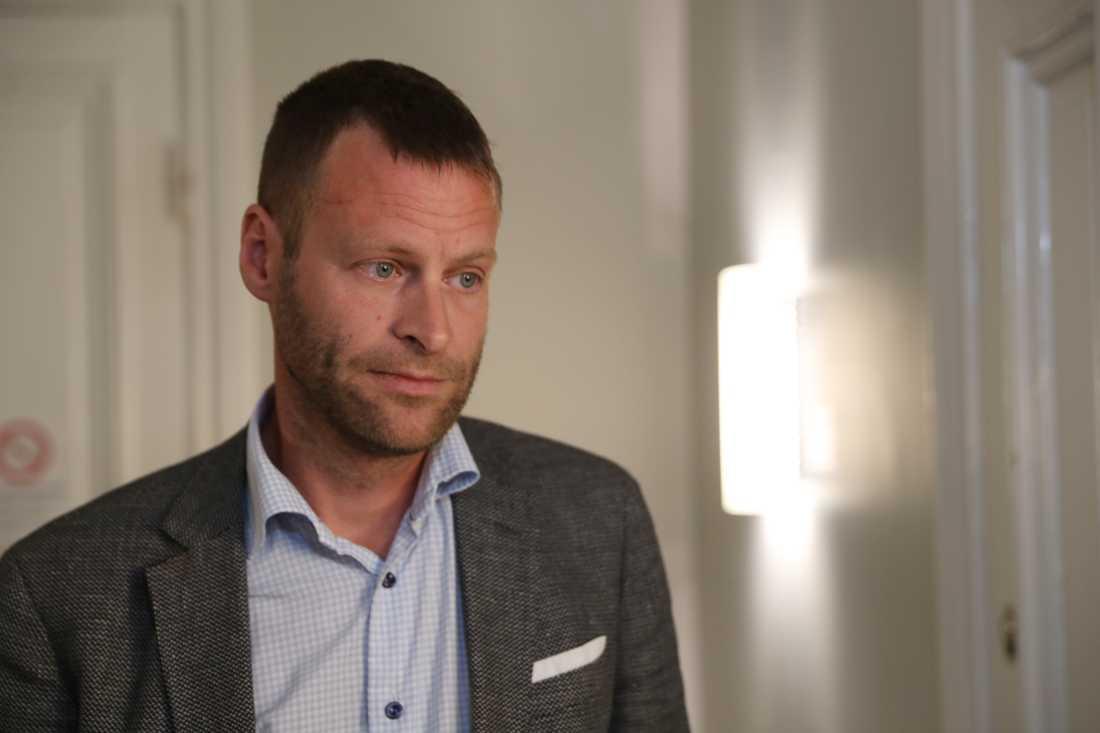 Försvarsadvokat Jonas Rydgren.