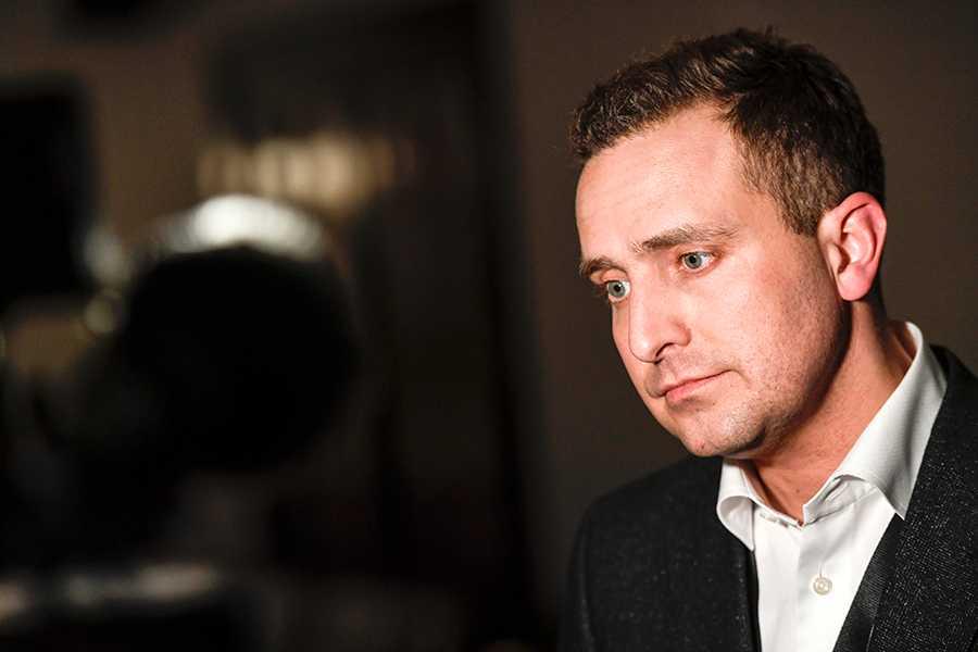Tomas Tobé, partisekreterare i Moderaterna.