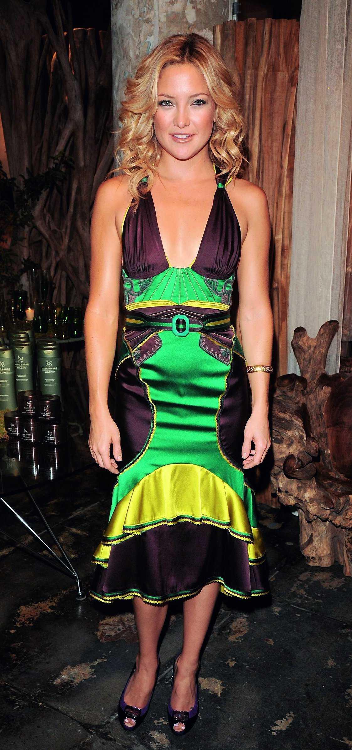 4761802ddbd7 Så här snygg var Kate Hudson när hennes miljövänliga hårprodukter  lanserades i juni.