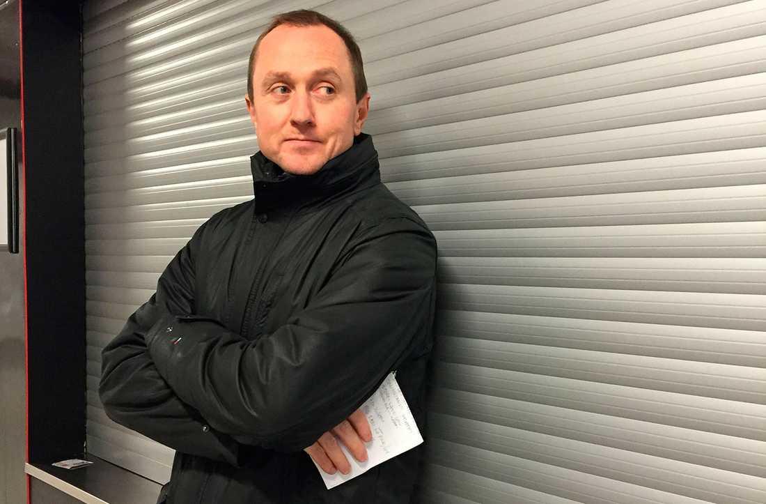 Hockeyspelare, konstnär, scout – nu kan Fredrik Jax titulera sig som sportchef.