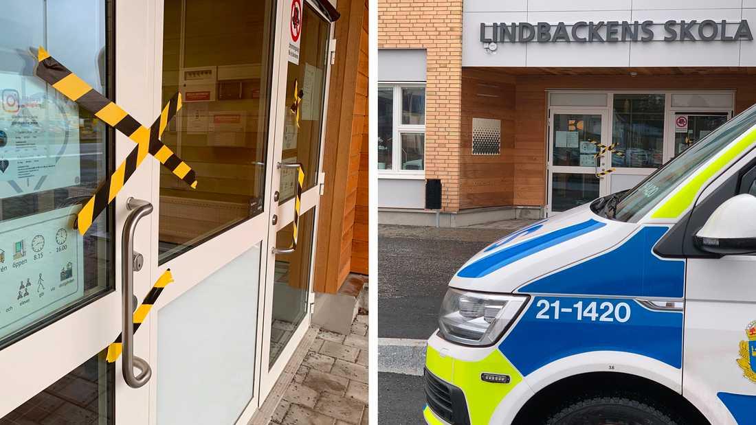 Nytt inbrott på Lindbackens skola.