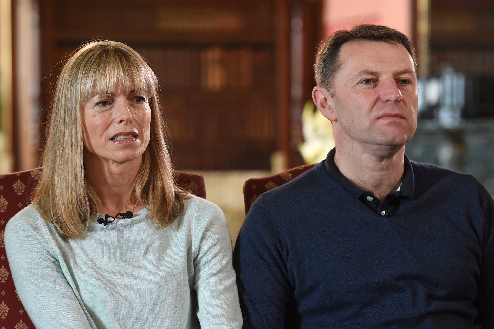 Föräldrarna Kate och Gerry McCan.