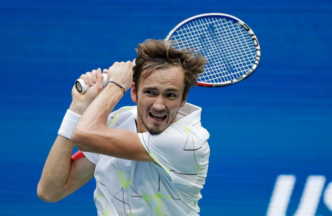 Ryssen Daniil Medvedev gav Rafael Nadal en tuff match om US Open-titeln.