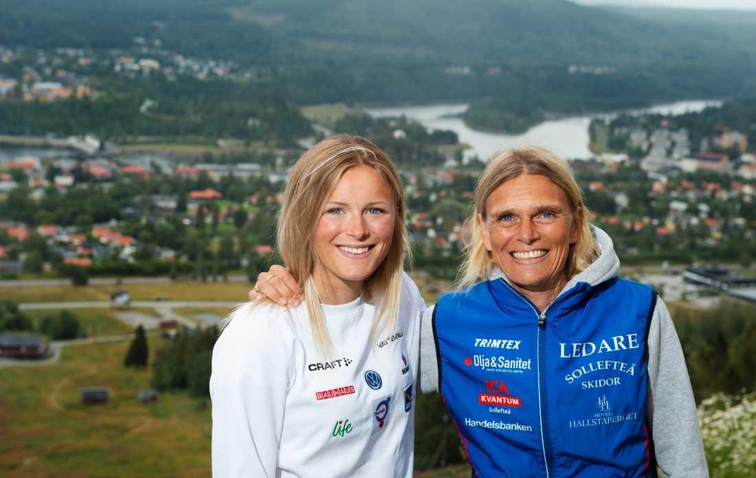 Frida Karlsson och Mia Karlsson