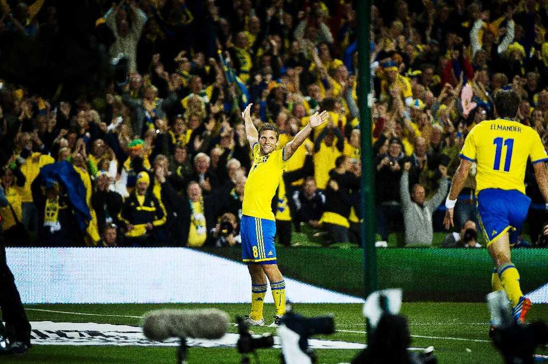 Svenssons mål tog Blågult ett stort steg närmare VM 2014.