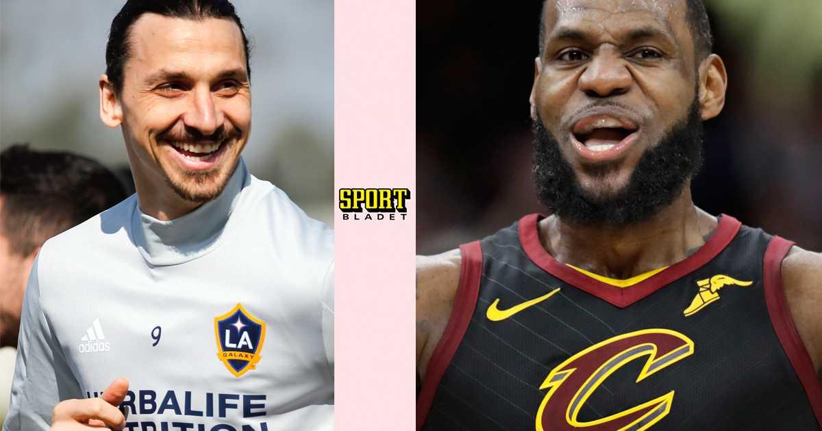 more photos f9ad1 df347 LeBron James till LA Lakers för 1,4 miljarder   Aftonbladet