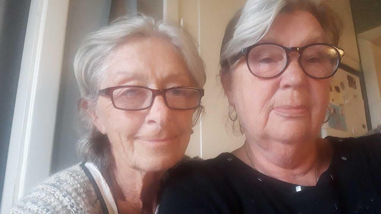 Margareta Wall och Lisbeth Andersson är bästa vänner.