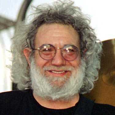 Grateful Deads Jerry Garcia bär ett annat berömt musikerskägg.