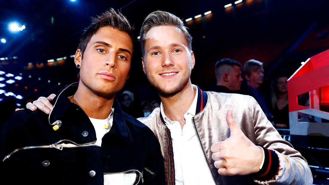 Samir Badran och Viktor Frisk.