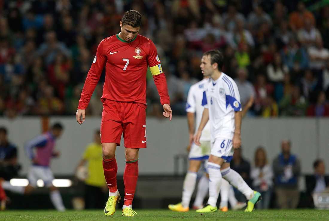 Ronaldo vilar för mycket, enligt svenska landslagets spion Reine Almqvist.