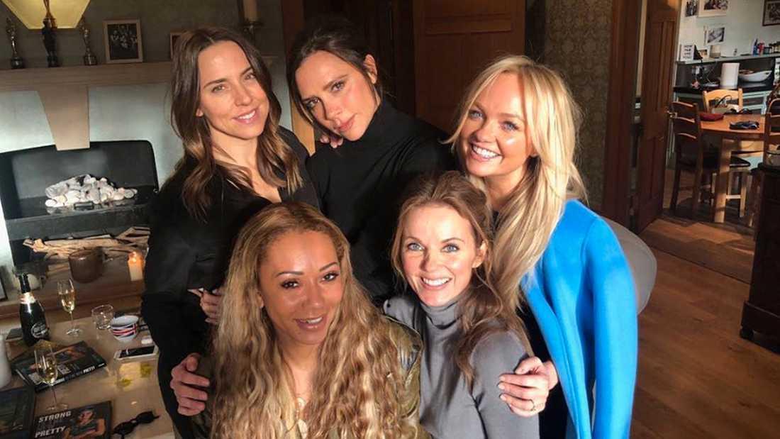 Spice Girls återträff förra veckan.