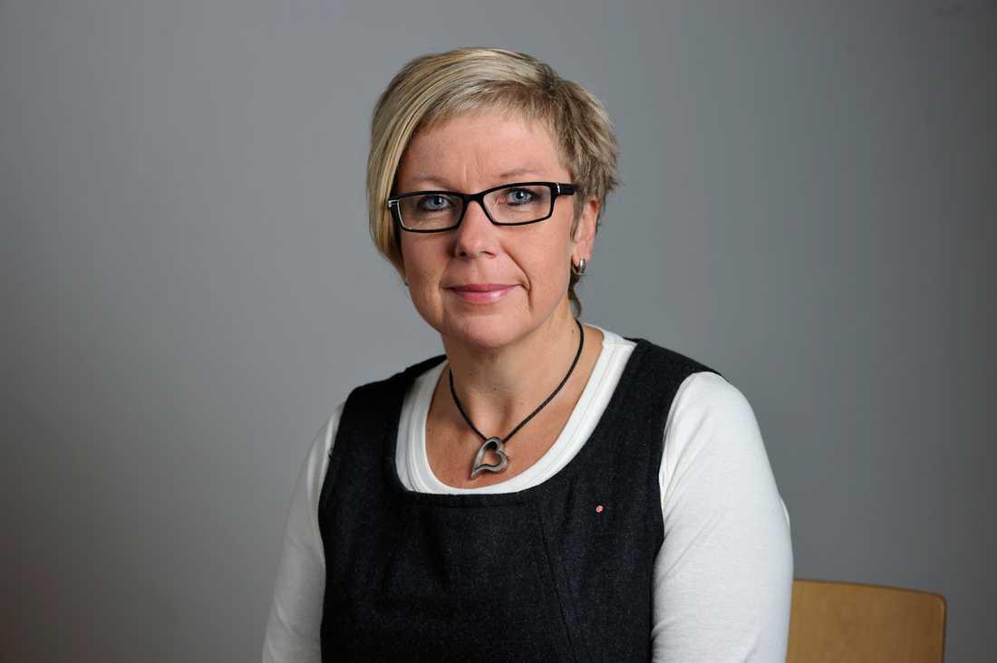 Annelie Karlsson (S), vice gruppledare
