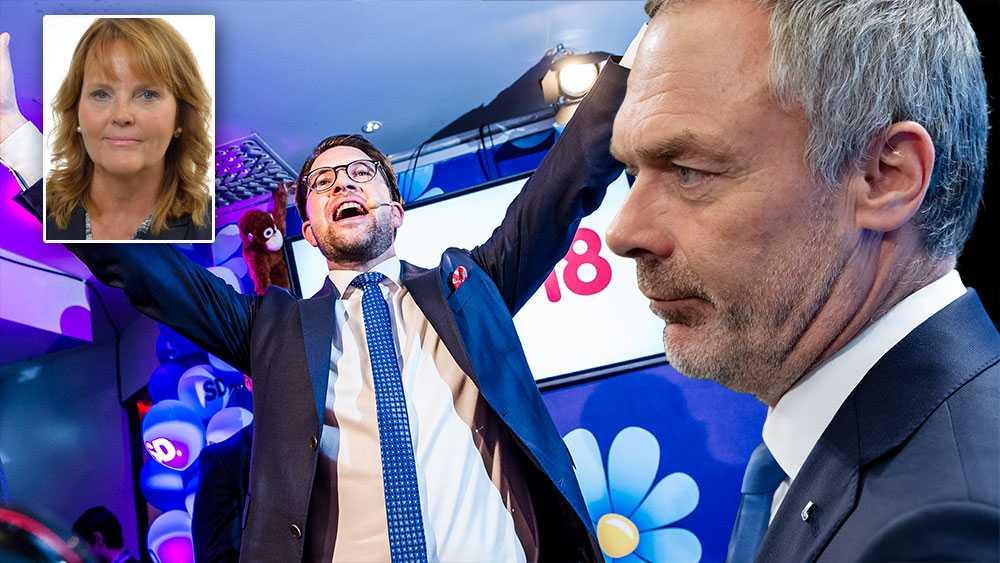 Liberalerna bryter mot sitt vallöfte om man medverkar till att en regering bildas som är beroende av Sverigedemokraterna, skriver Nina Lundström (L).