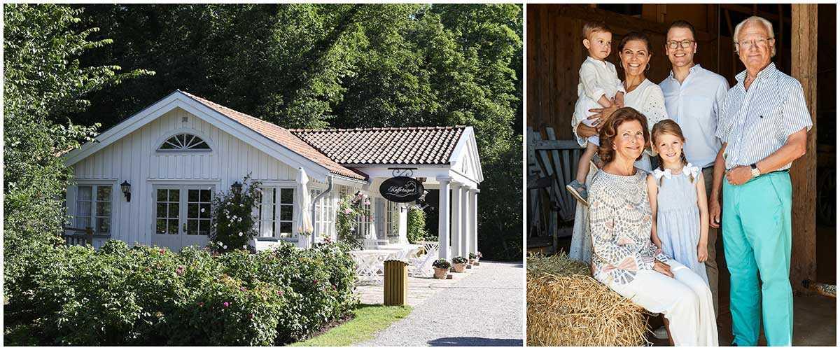 Kaffetorpet på Öland ligger ett stenkast från kungafamiljens sommarslott Solliden. De besöker ofta kaféet.