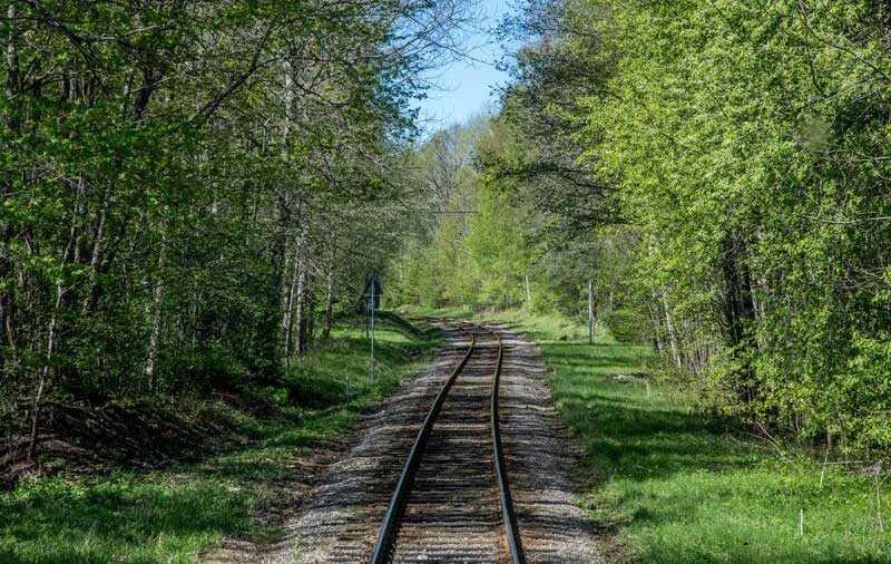 Resan mellan Lidköping och Mariestad tar dig över vackra Kinnekulle.