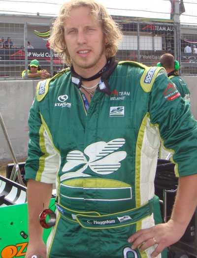 Klar för F1 Charlie Häggstam heter svensken som tar plats i Formel 1 nästa år. Häggstam ska arbete som mekaniker på en av bilarna i Virgin Racing. FOTO: PRIVAT