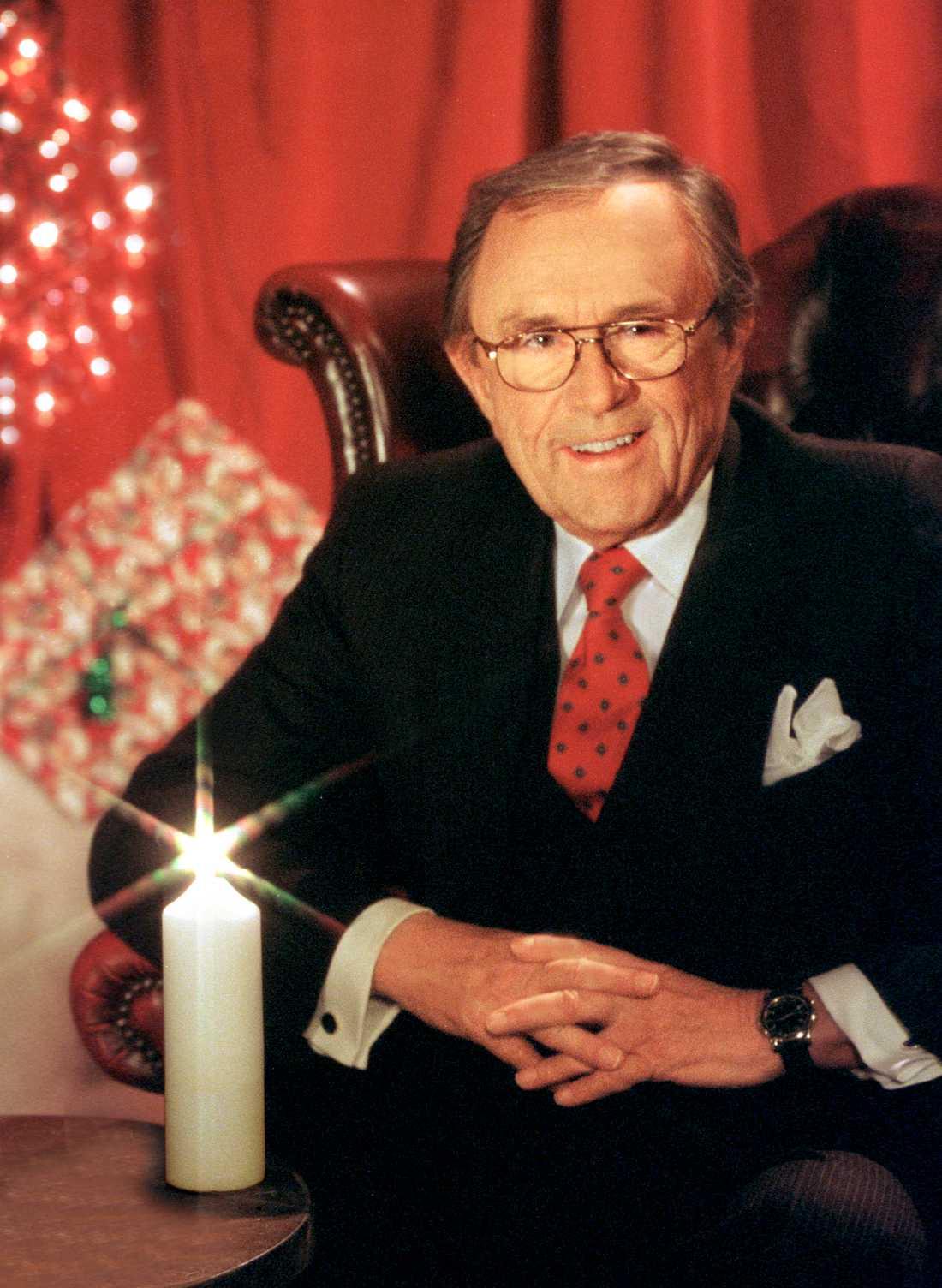 Arne Weise som julvärd 2002.