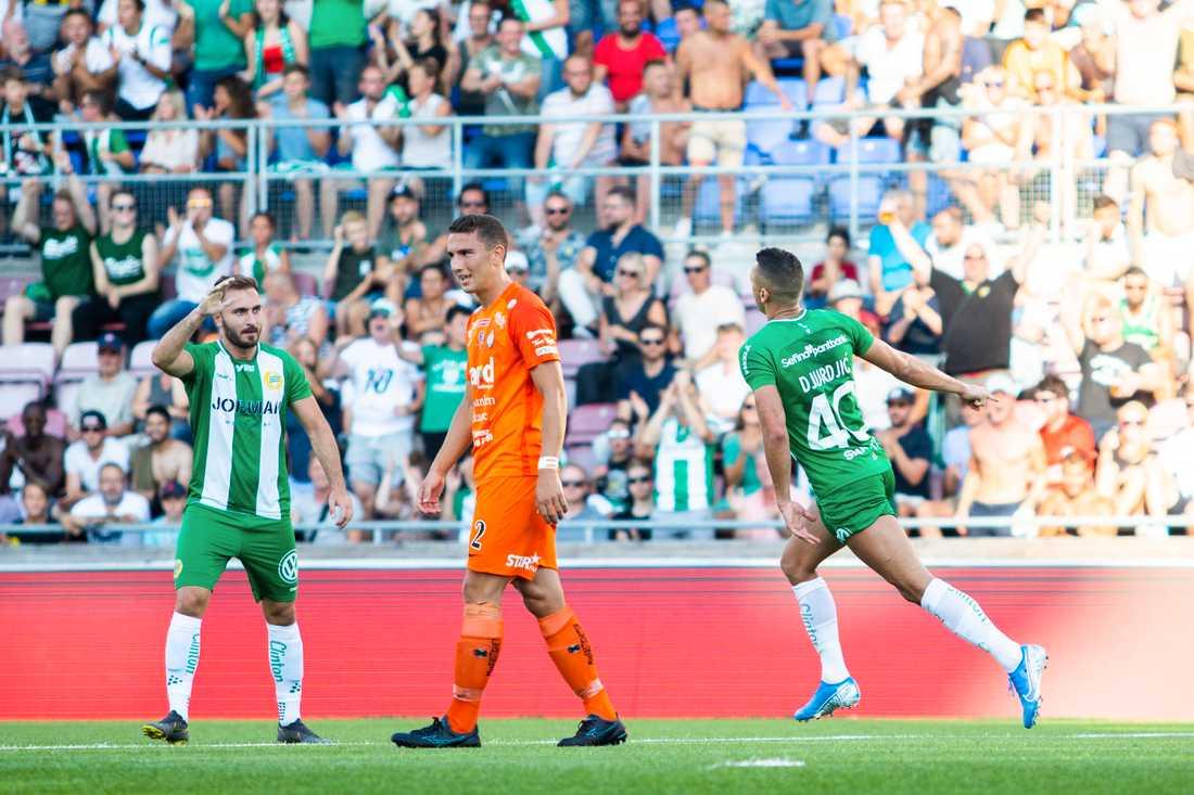 13 av 22 spelare hade rötter på Balkan när Hammarby mötte AFC förra sommaren.