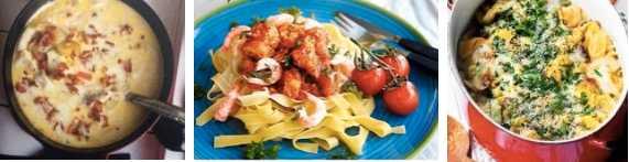 Torsk på två läckra sätt eller en gratinerad tortellinigryta - vad passar din middag?