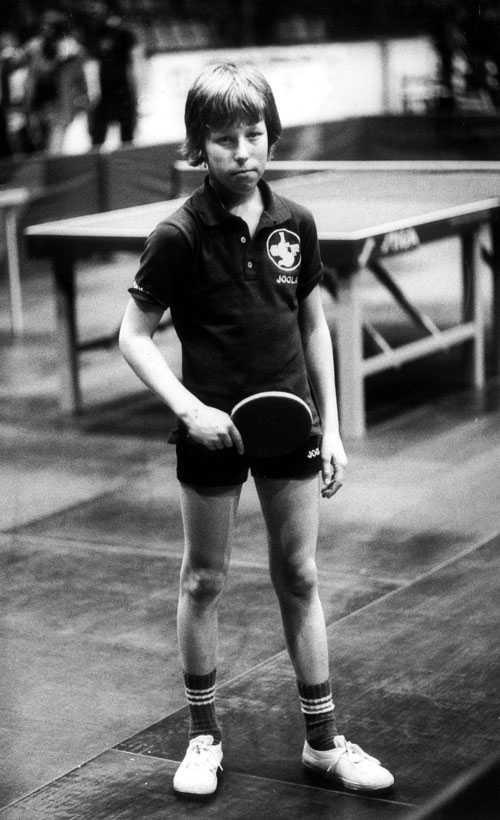 En ung J-O i skandinaviska öppna.