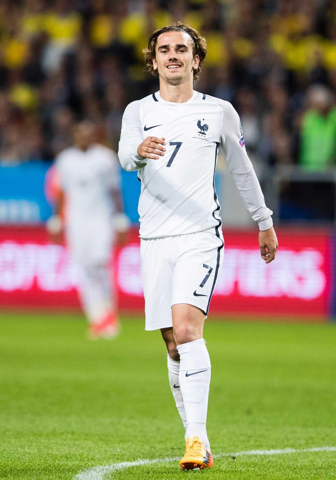 Den franske landslagsstjärnan Antoine Griezmann.
