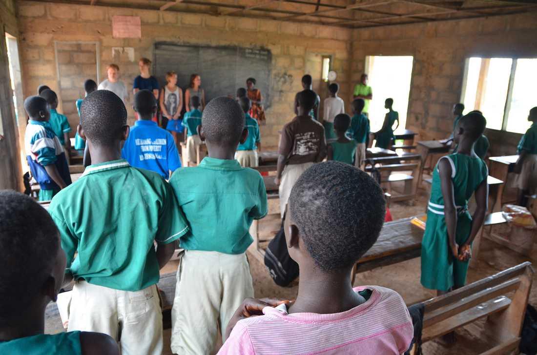 Nu driver de stiftelsen Make a Difference och samlar in pengar till ett barnhem och fattiga familjer i Ghana.