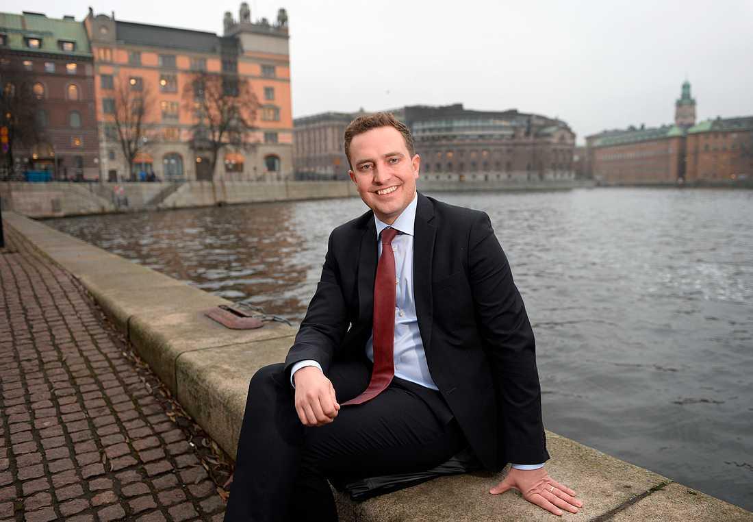 Moderaternas rättspolitiske talesperson Tomas Tobé presenterade undantagen till lagen om tiggeriförbud i fredags.