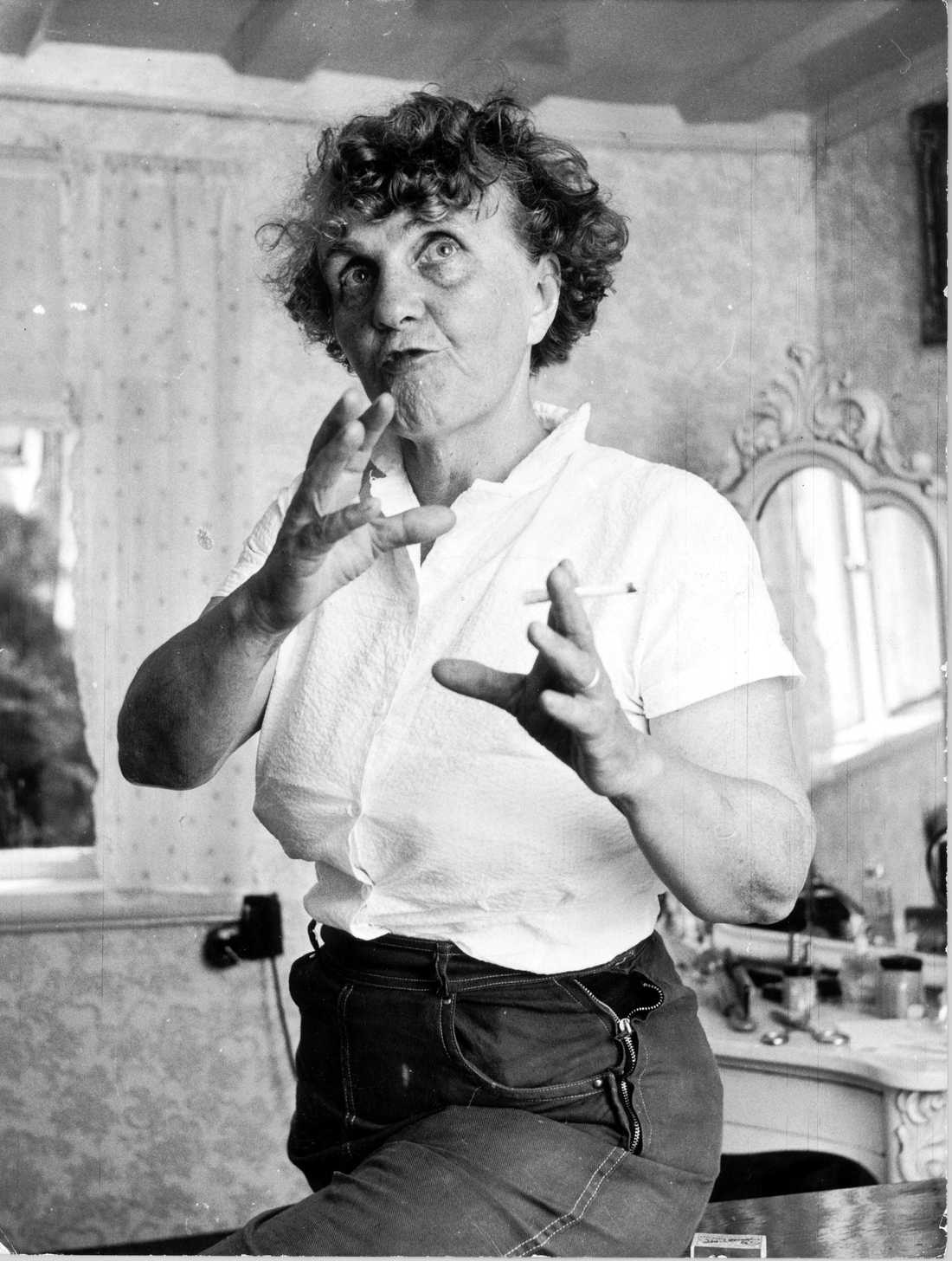 Författaren Moa Martinsson