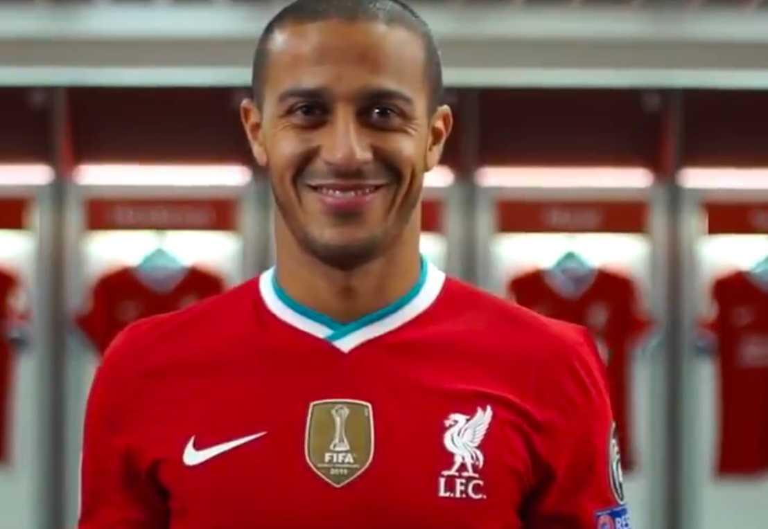 Thiago Alcântara är klar för Liverpool.