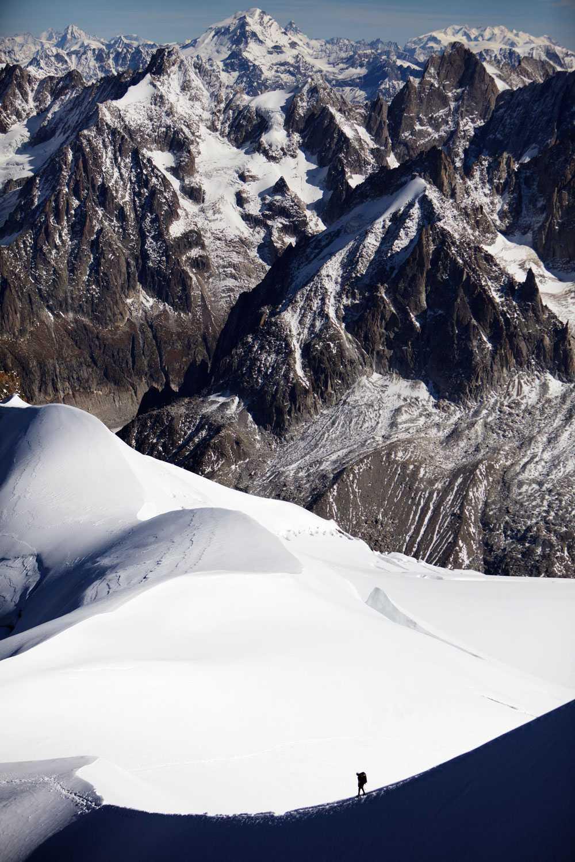 Mont Blanc-massivet.