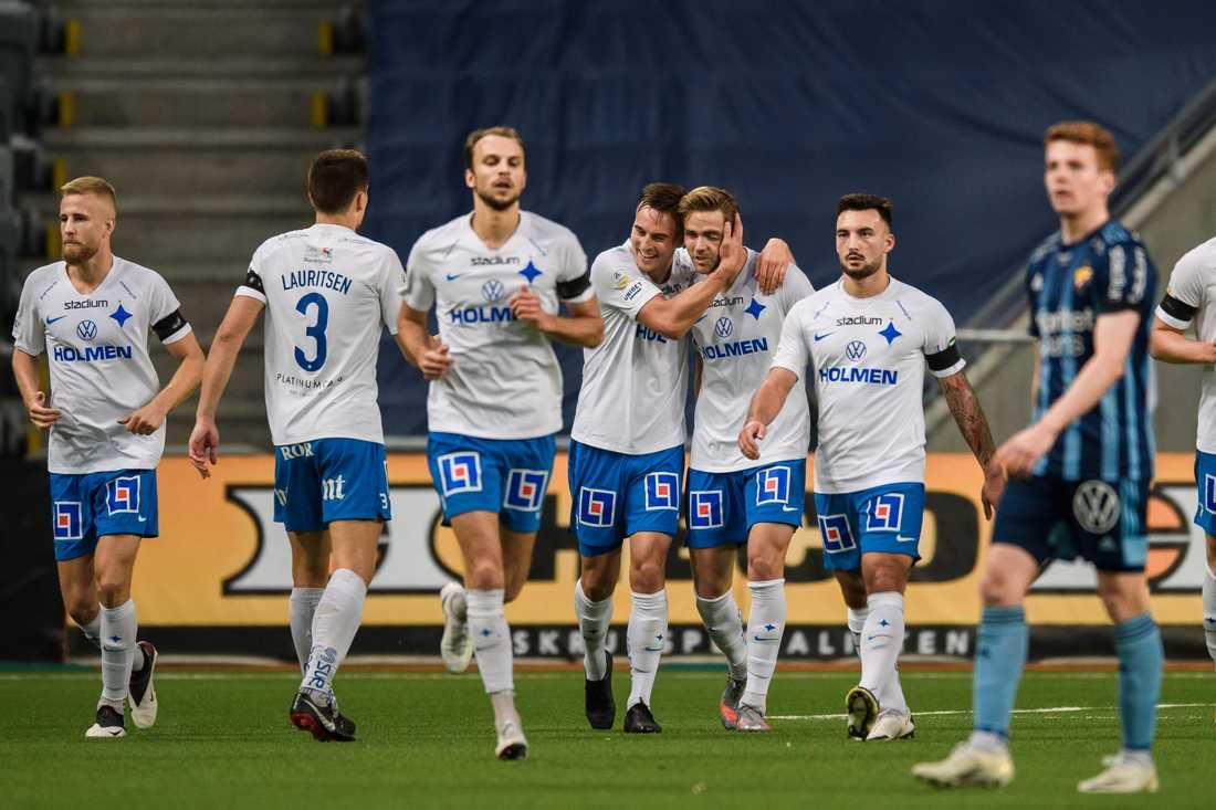 IFK Norrköping vann med 2–1 i Stockholm.