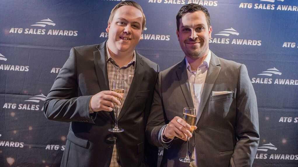 Pontus Chorell och Mathias Blomquist