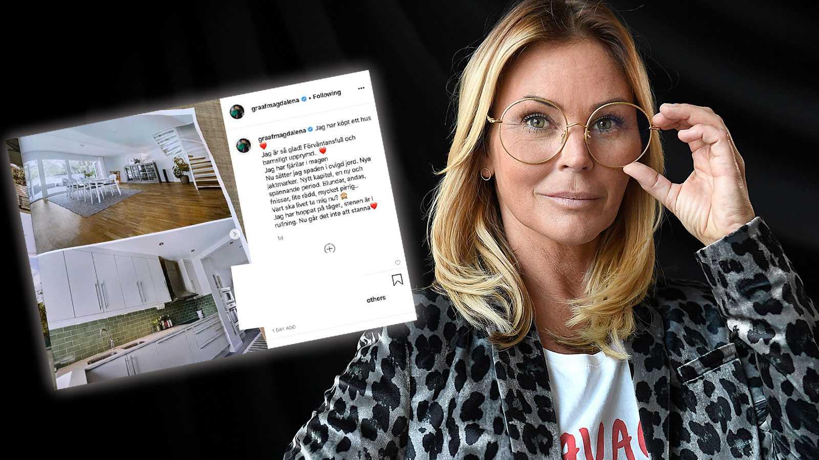 Magdalena Graafs livsbeslut efter uppbrottet