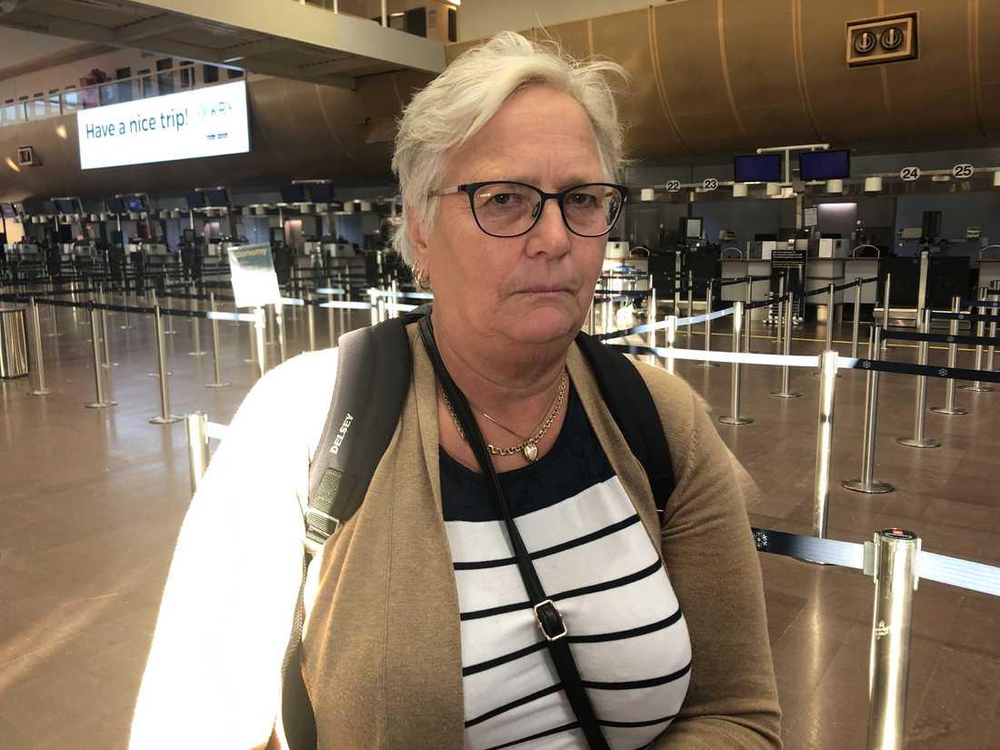 """""""Det känns för jävligt"""", säger Eva från Hudiksvall."""