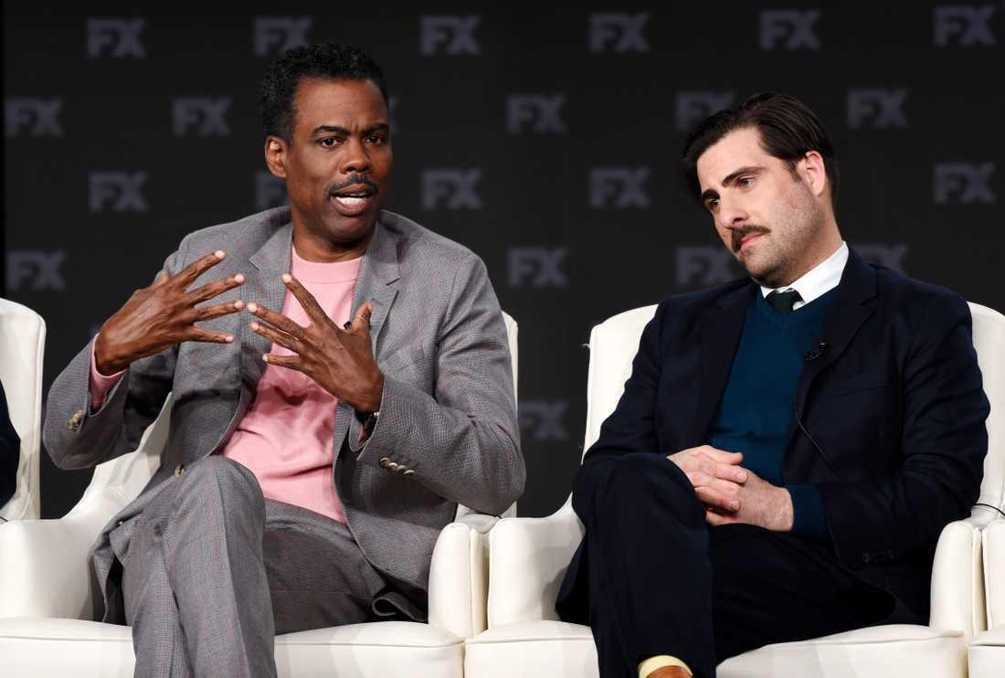 """Chris Rock och Jason Schwartzman syns i den fjärde säsongen av """"Fargo"""". Arkivbild."""