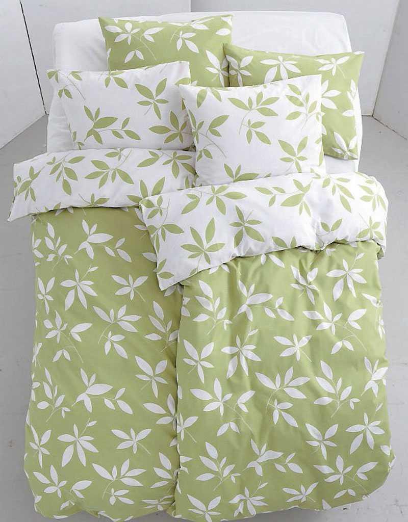 Sov sött i fina gröna påslakan från Ellos, 199 kr.