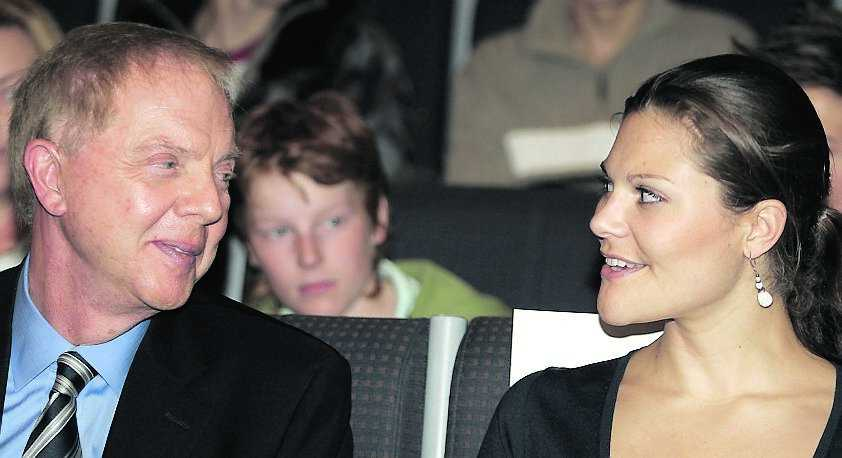 ... som med kronprinsessan Victoria.