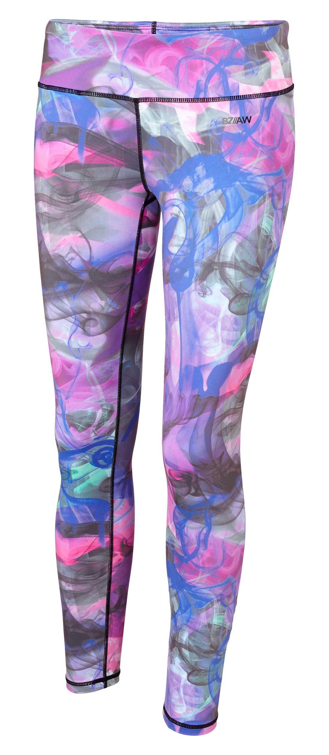 Bli en färgklick i Kappahls lilamönstrade byxor. För 299 kronor hamnar de i din sportväska.