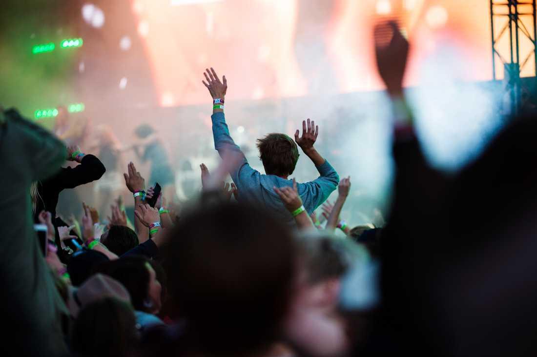 Festivaler, konserter och galor ställs in eller flyttas fram på grund av coronaviruset. Genrebild.
