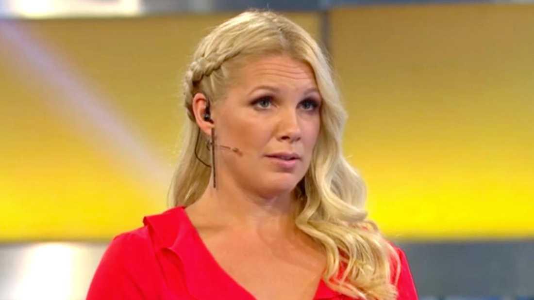 """Anna Brolin, programledare för """"Biggest Loser VIP""""."""