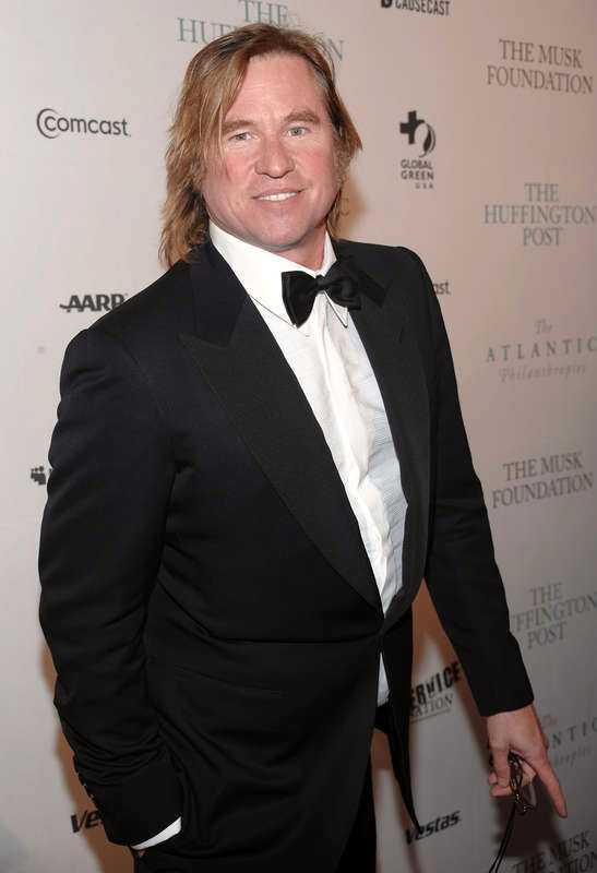 Val Kilmer har gjort flera stora roller, bland annat som Batman och Jim Morrison i filmen om The Doors.