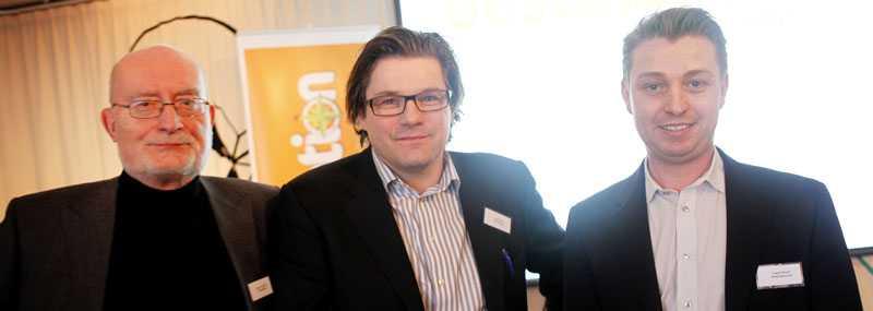 Värdar för premiärfesten var Kalle Jungkvist, chefredaktör på aftonbladet.se, Jan Helin, chefredaktör Aftonbladet, och Frans Storm, vd Destination.