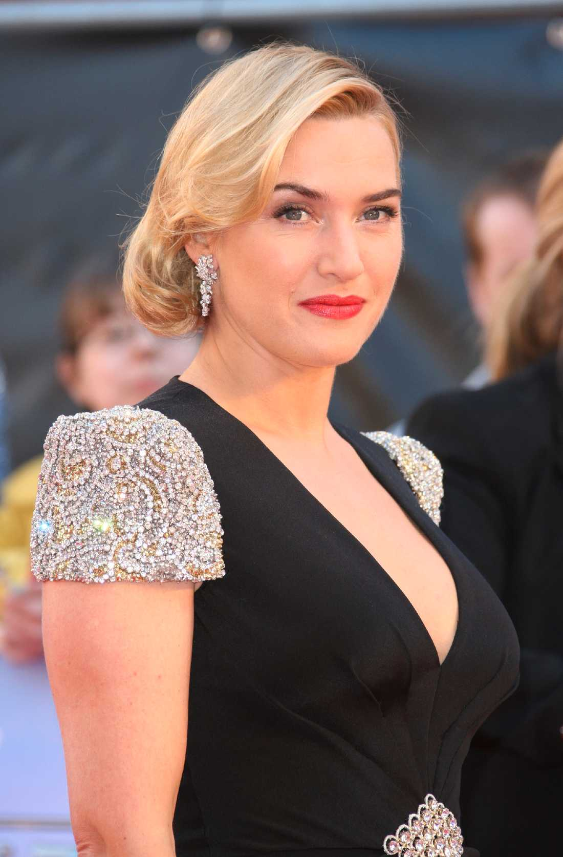 """Kate Winslet på premiären av """"Titanic 3D"""" häromdagen."""
