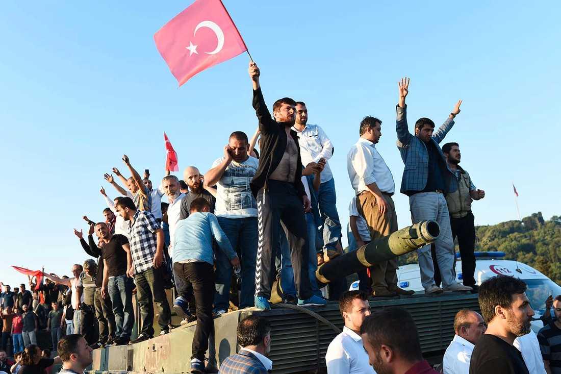 Istanbul under lördagsmorgonen.