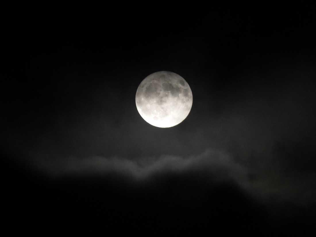 Simåne Karlsson i Ronneby tog den här bilden på månen.