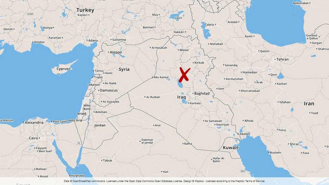 En attack har krävt flera dödsoffer nära den centralt belägna staden Tikrit i Irak.
