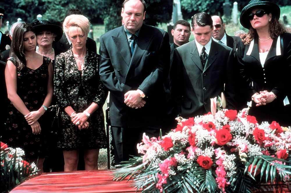 Sopranos på begravning
