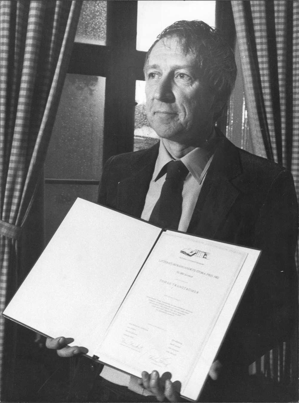 Tranströmer, 1982