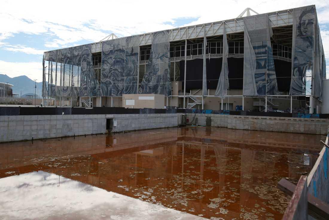 Olympic Aquatics Stadium.