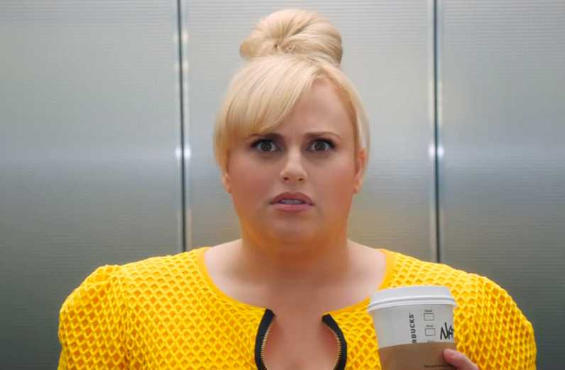 "Rebel Wilson i ""Isn't it romantic""."